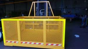 Man cage fabrication